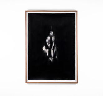 Alexandra Karakashian   Undying XLI   2018   Oil on Sized Paper   99 x 70 cm
