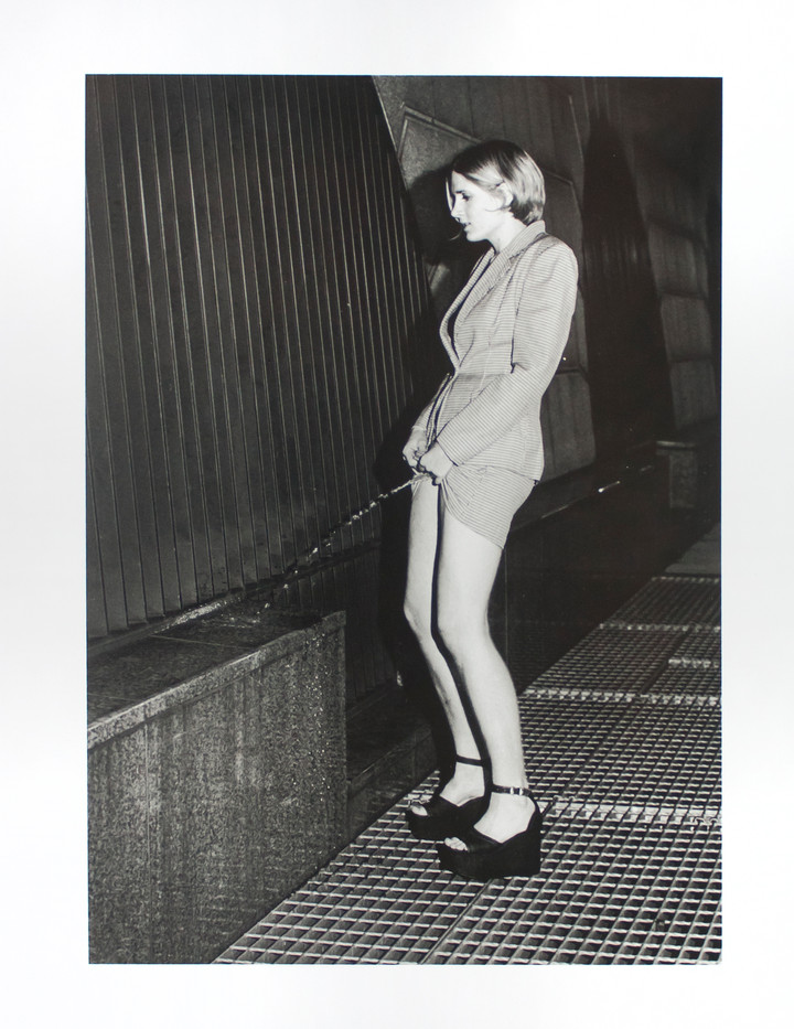Sophy Rickett | Pissing Woman Study | 2001 | Bromide Print | 46 x 36 cm