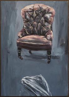 Johann Louw | Stoel | 2016 | Oil on Canvas | 124 x 89 cm