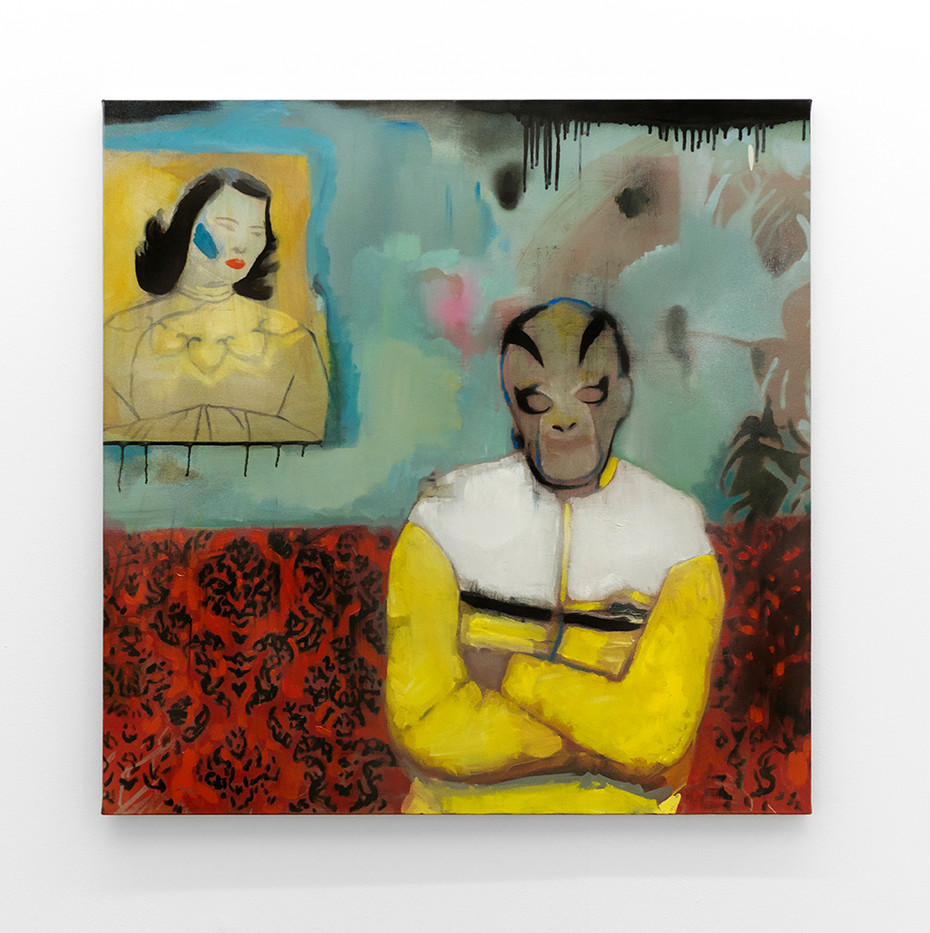 Kate Gottgens   Trouble   2017   Oil on Canvas   95 x 130 cm