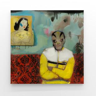Kate Gottgens | Trouble | 2017 | Oil on Canvas | 95 x 130 cm