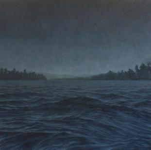 Jake Aikman   N10.841736, W85.873802   2013   Oil on Canvas   165 x 165 cm