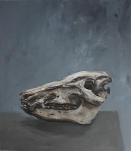 Johann Louw | Skedel I | 2011 | Oil on Plywood | 120 x 100 cm