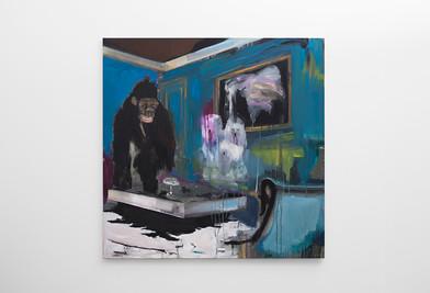 Kate Gottgens | Harvey | 2017 | Oil on Canvas | 150 x 150 cm