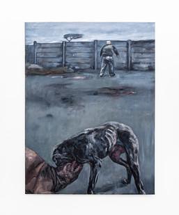 Johann Louw | Bittergal | 2020 | Oil on Canvas | 209 x 148 cm
