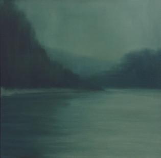 Jake Aikman   N10.776439, W85.548781   2013   Oil on Canvas   60 x 60 cm