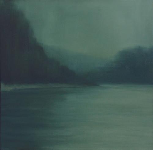 Jake Aikman | N10.776439, W85.548781 | 2013 | Oil on Canvas | 60 x 60 cm