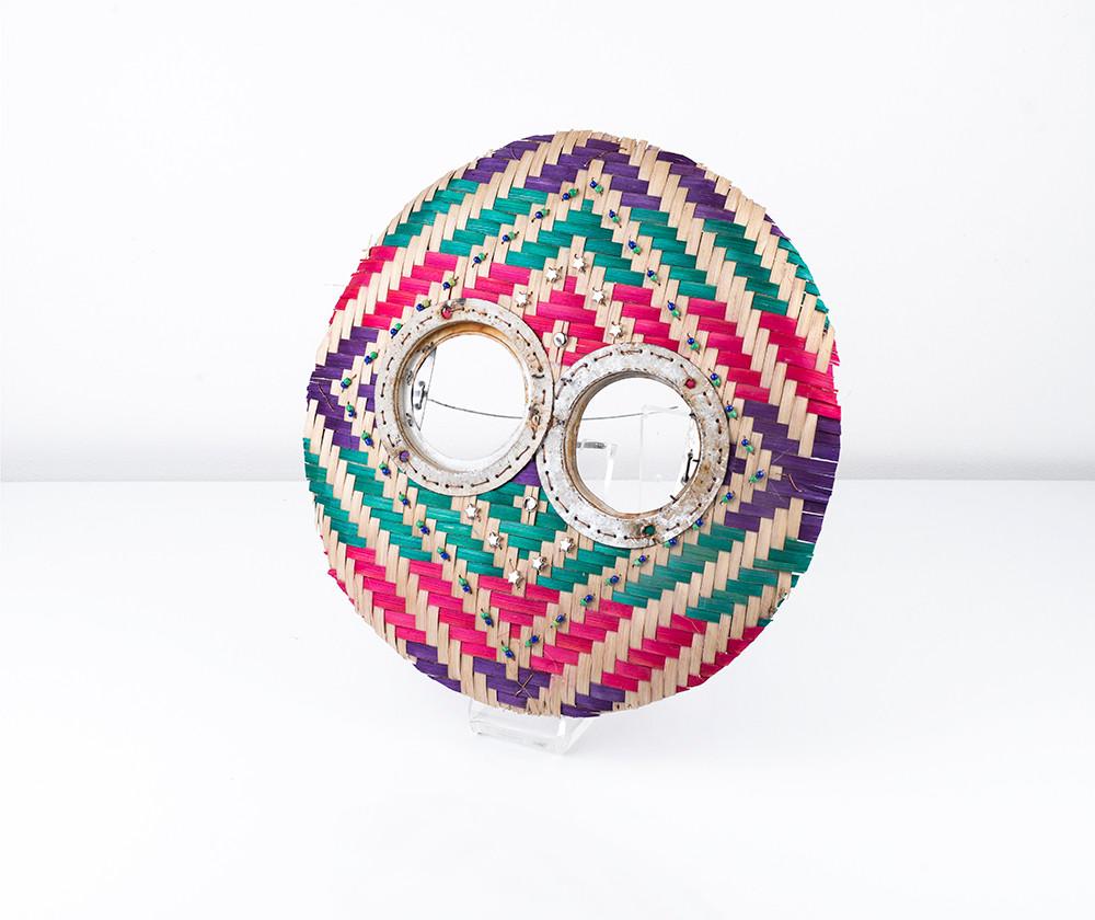 Cyrus Kabiru   Rainbow   2018   Mixed Media:Found Objects   35 x 35 x 10 cm