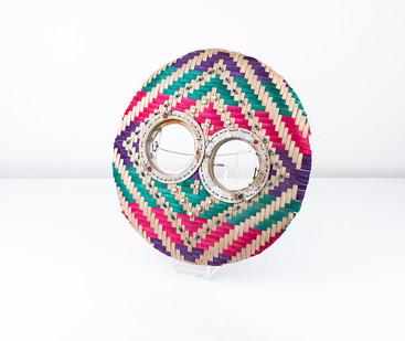 Cyrus Kabiru | Rainbow | 2018 | Mixed Media:Found Objects | 35 x 35 x 10 cm
