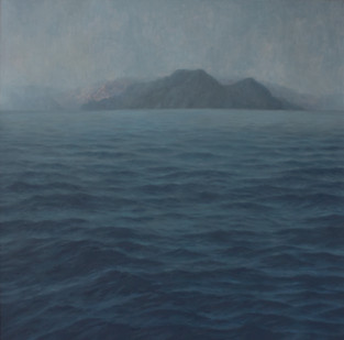 Jake Aikman   N10.839376, W85.884   2013   Oil on Canvas   165 x 165 cm