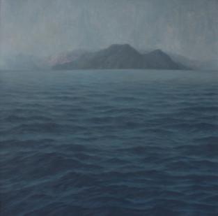 Jake Aikman | N10.839376, W85.884 | 2013 | Oil on Canvas | 165 x 165 cm