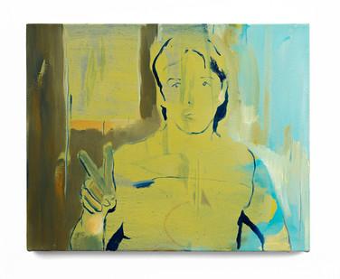 Kate Gottgens   Boy   2019   Oil on Canvas   40 x 50 cm