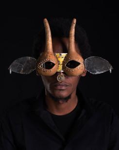 Cyrus Kabiru | Macho Nne 24 (Nubian Antelope) | 2015 | Pigment Ink on HP Premium Satin Photographic Paper | 150 x 120 cm | Edition of 5 + 2 AP