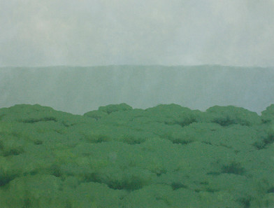 Jake Aikman   N10.79482, W85.674955   2013   Oil on Canvas   95 x 125 cm