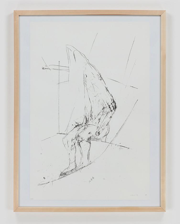 Albert Adams | Circus V | 2006 | Lithograph | 83 x 63 cm
