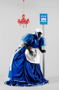 Mary Sibande | The Wait Seems to Go on Forever | 2009 | Archival Digital Print | 90 x 60 cm | Edition of 10 + 3 AP