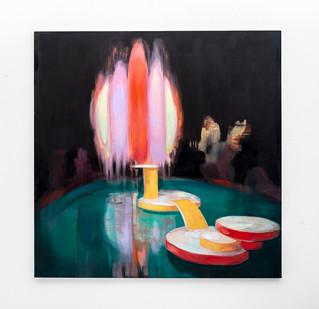 Kate Gottgens | The Wonder | 2020 | Oil on Canvas | 150 x 150 cm