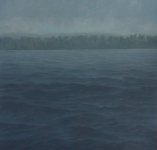 Jake Aikman   N10.838881, W85.8854   2013   Oil on Canvas   160 x 160 cm