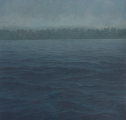 Jake Aikman | N10.838881, W85.8854 | 2013 | Oil on Canvas | 160 x 160 cm