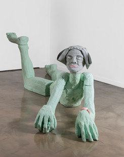 Marlene Steyn | sphinxy minx | 2019 | Polyurethane Resin | 90 x 190 x 370 cm