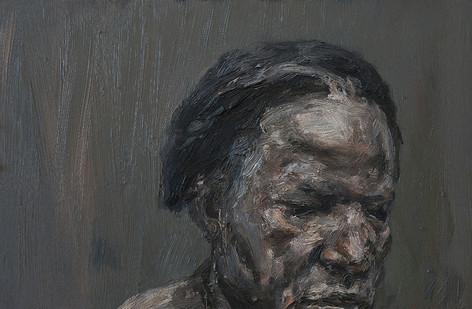 Johann Louw | Klein Portretskildery van A | 2017 | Oil on Board | 37 x 58 cm