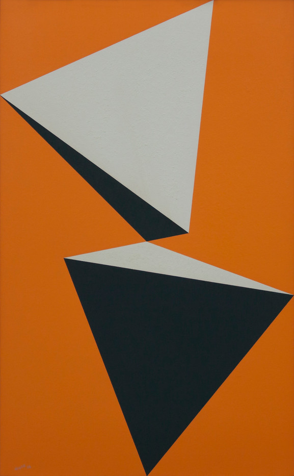 Albert Newall | Untitled | 1958 | Acrylic on Board | 80.5 x 49.5 cm