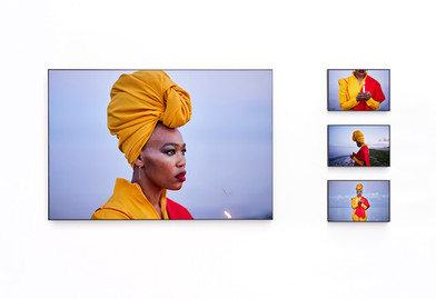 Lhola Amira | iNyembezi zomKhathilibe : lágrimas do universo | 2019 | Epson Hot Press Natural Giclée Mounted Diasec | Sizes Variable | Edition of 3 + 2 AP