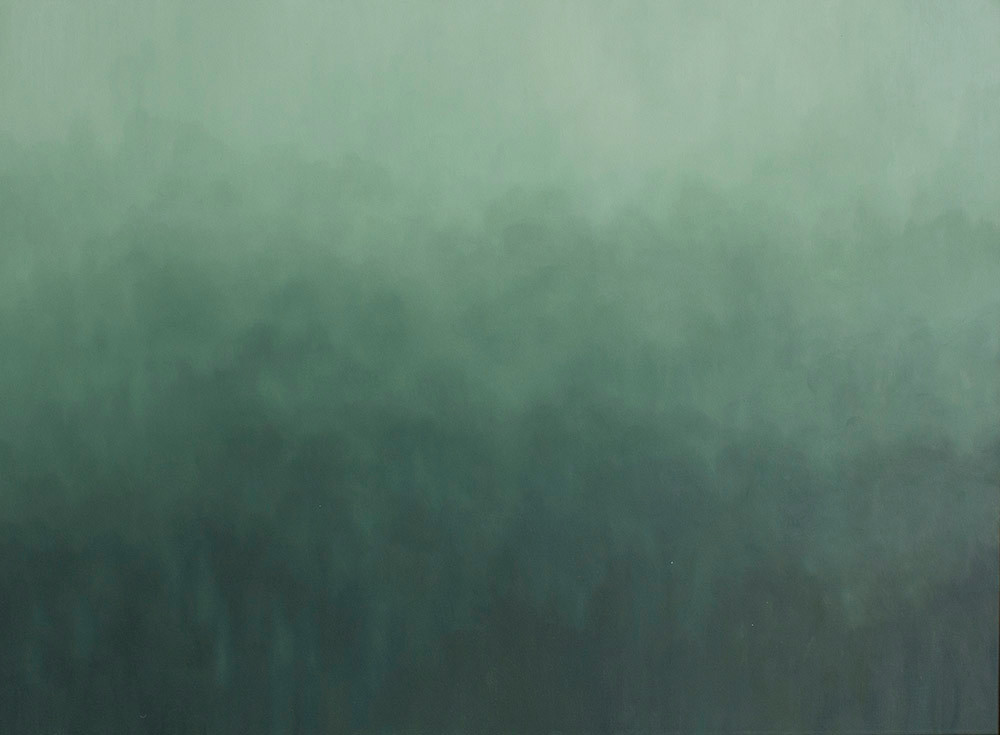 Jake Aikman | N13.205855, W88.497673 | 2013 | Oil on Canvas | 75 x 95 cm