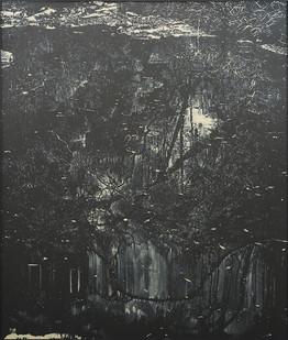 Peter Eastman   Coldstream I   2017   Oil on Aluminium   185 x 150 cm