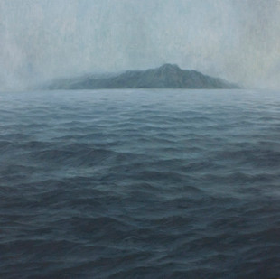 Jake Aikman   N10.858427, W85.930279   2013   Oil on Canvas   160 x 160 cm