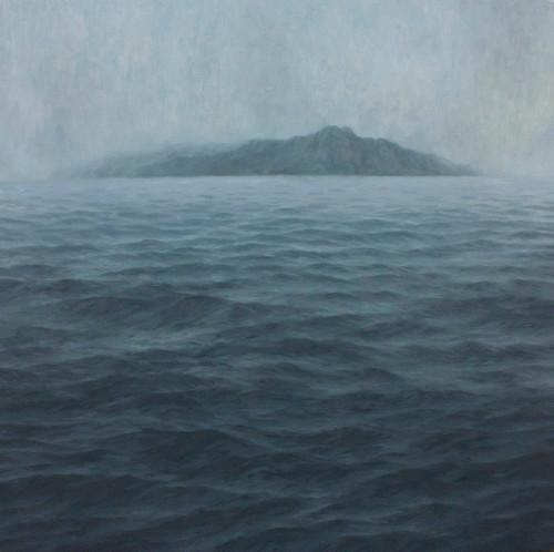 Jake Aikman | N10.858427, W85.930279 | 2013 | Oil on Canvas | 160 x 160 cm
