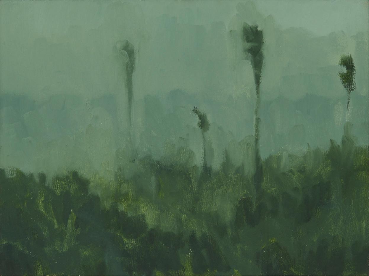 Jake Aikman | Forgotten Place | 2014 | Oil on Canvas | 31 X 40 cm