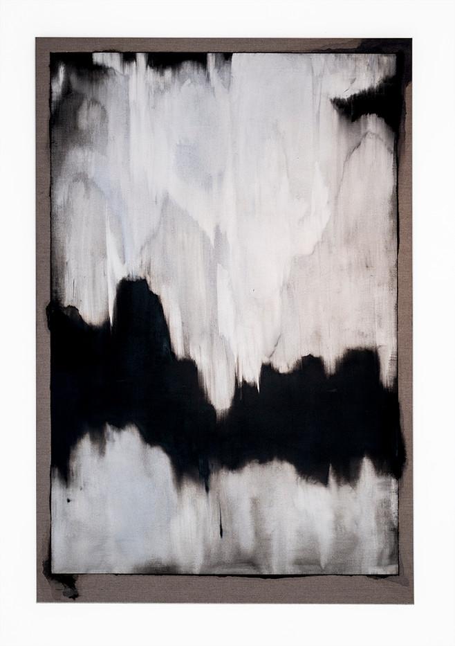 Alexandra Karakashian | Collapsed II | 2017 | Oil on Linen | 180 x 120 cm