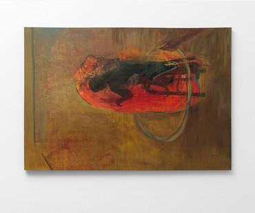 Wallen Mapondera   Black Magician   2017   Oil on Canvas   130 x 183 cm
