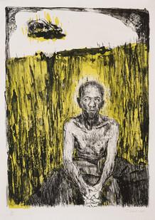 Johann Louw | Willem Skedel | 2010 | Lithograph | 68 X 50 cm