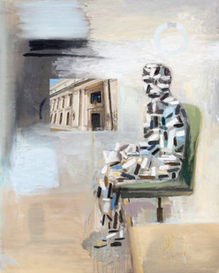 Simon Stone | The Cave | 2012 | Oil on Board | 100 x 78 cm