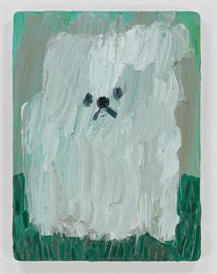 Georgina Gratrix | Chiquita | 2015 | Oil on Board | 40 x 30 cm