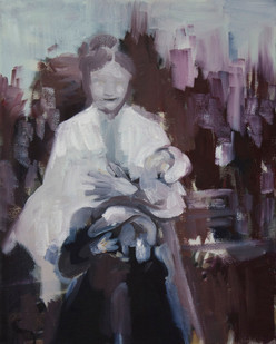 Kate Gottgens | Mother | 2014 | Oil on Canvas | 50.5 x 40.5 cm