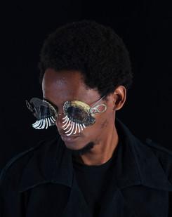 Cyrus Kabiru | Macho Nne 10 (Africana Eyelashes) | 2014 | Pigment Ink on HP Premium Satin Photographic Paper | 150 x 120 cm | Edition of 5 + 2 AP
