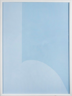 Helen A. Pritchard   Untitled - Carrier 21   2013   Oil and Pigment on Canvas   82.5 x 60 cm