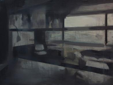 Kate Gottgens | Petty Crime VIII | 2012 | Oil on Canvas | 30.5 x 40.5 cm