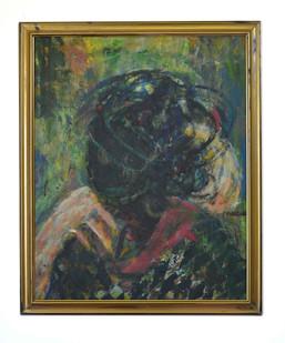 Mostaff Muchawaya | Nyakusiwa | 2017 | Acrylic on Canvas | 125.5 x 103 cm
