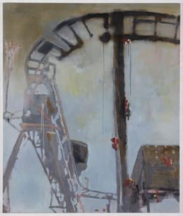 Uwe Wittwer | Gradient | 2011 | Oil on Canvas | 130 x 110 cm