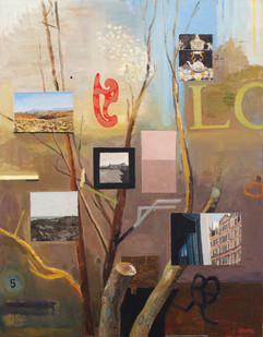 Simon Stone   The Fifth Tree of Nonsense   2014   Oil on Board   100 x 78 cm