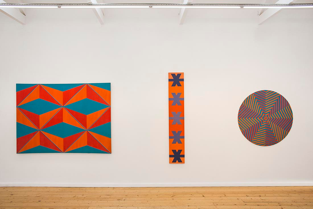 Trevor Coleman | Abstraction: 1960 – 1977 | 2014 | Installation View