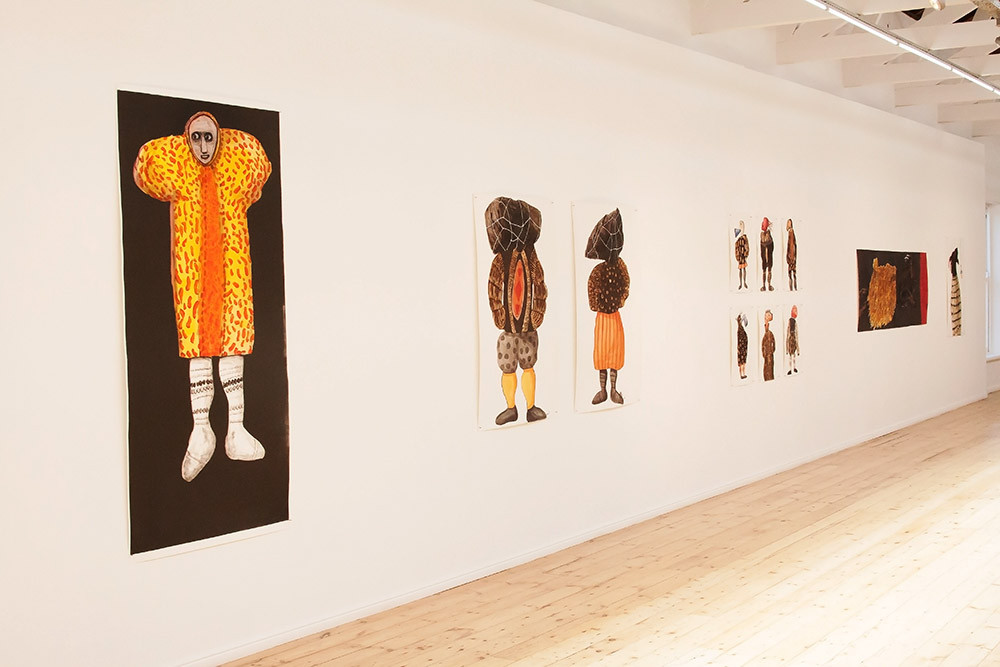 Colbert Mashile   S'ka Motho (Just Like Man)   2015   Installation View