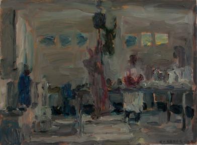 Anton Karstel | Property (Calvinia) | 2014 | Oil on Canvas | 30 x 41 cm