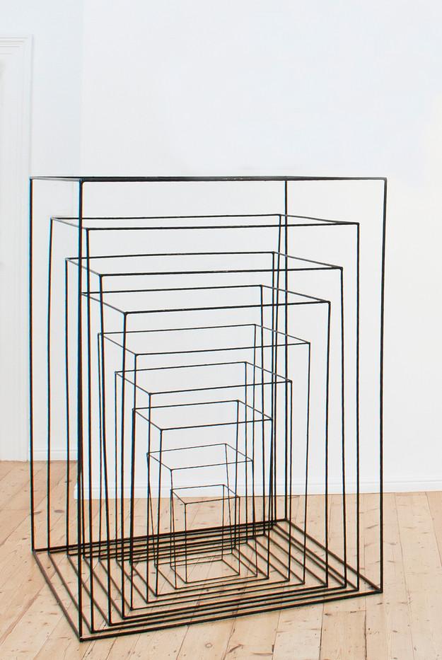 Barend De Wet | Abstract Sculpture | 2013 | Painted Steel | Sizes Variable
