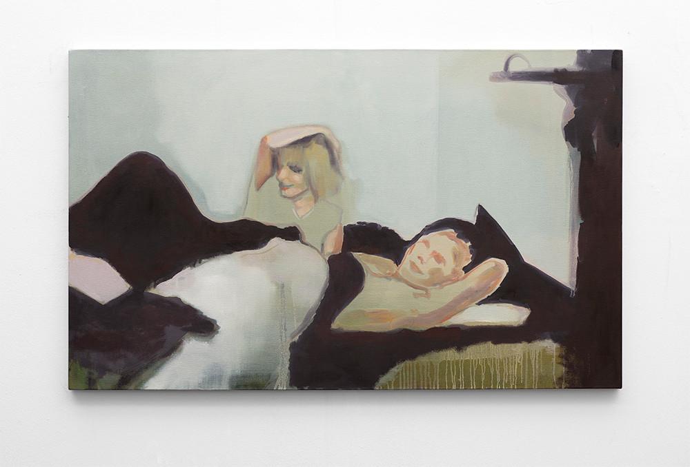 Kate Gottgens | Lover | 2016 | Oil on Canvas | 80 x 130 cm