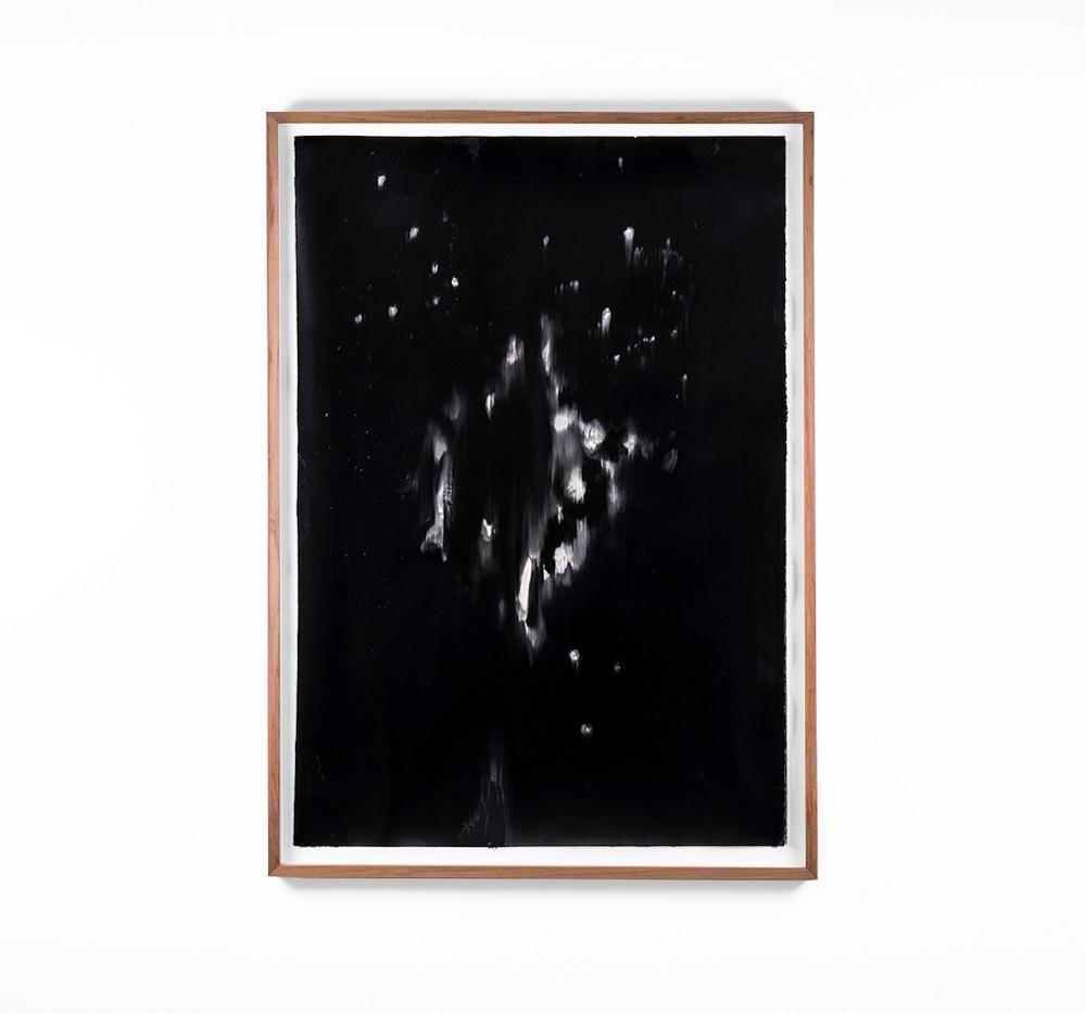 Alexandra Karakashian | Undying XXXVIII | 2018 | Oil on Sized Paper | 99 x 70 cm